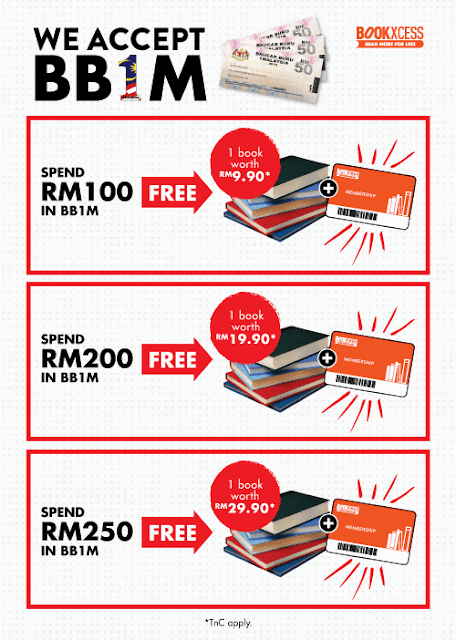 BookXcess BB1M Promotion