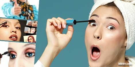 Kenapa Mulut Wanita Terbuka Saat Memakai Maskara