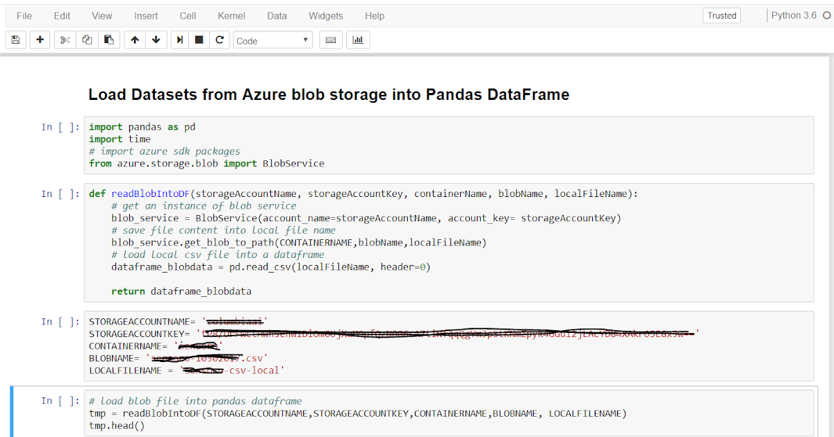Mostafa's Blog: Load datasets from azure blob storage into