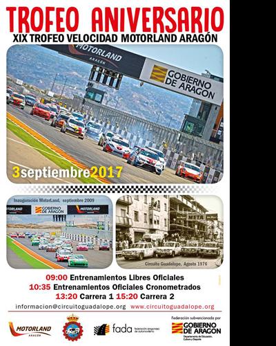 XIX Trofeo de Velocidad MotorLand Aragón