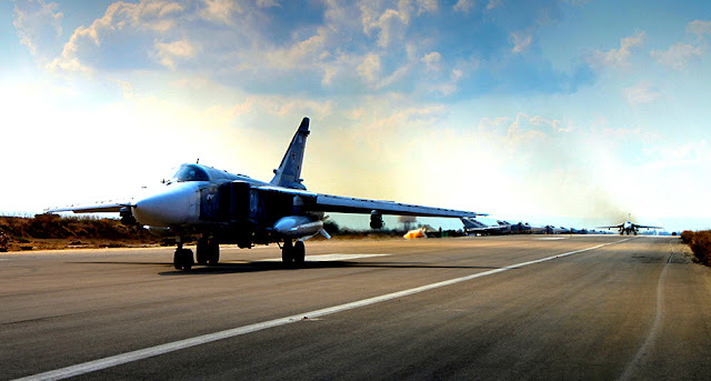 Image Attribute: Russian military aircraft at Latakia, Syria / Wikimedia Commons