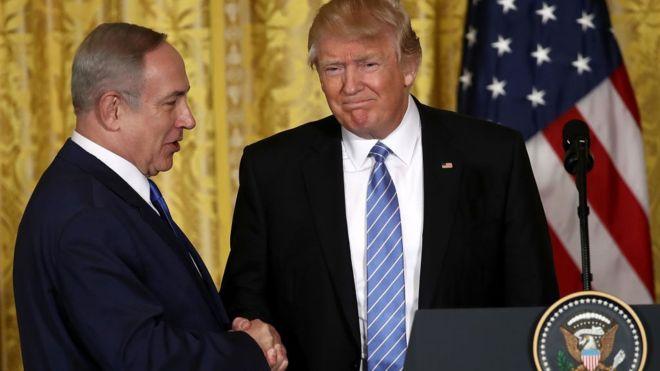 Trumps visits Israel