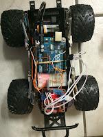 Carro Controlado con Android y Arduino