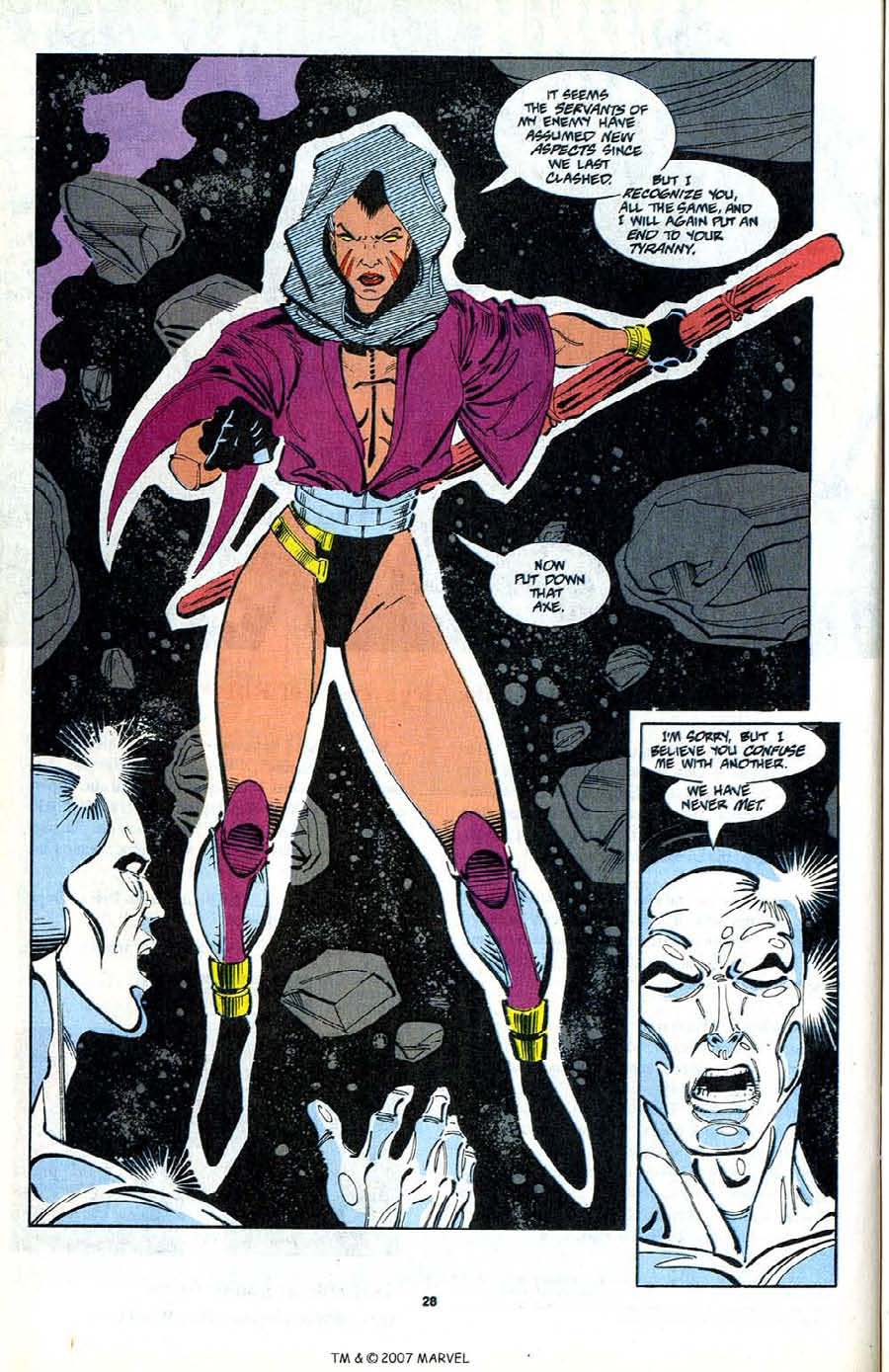 Read online Silver Surfer (1987) comic -  Issue #80 - 30