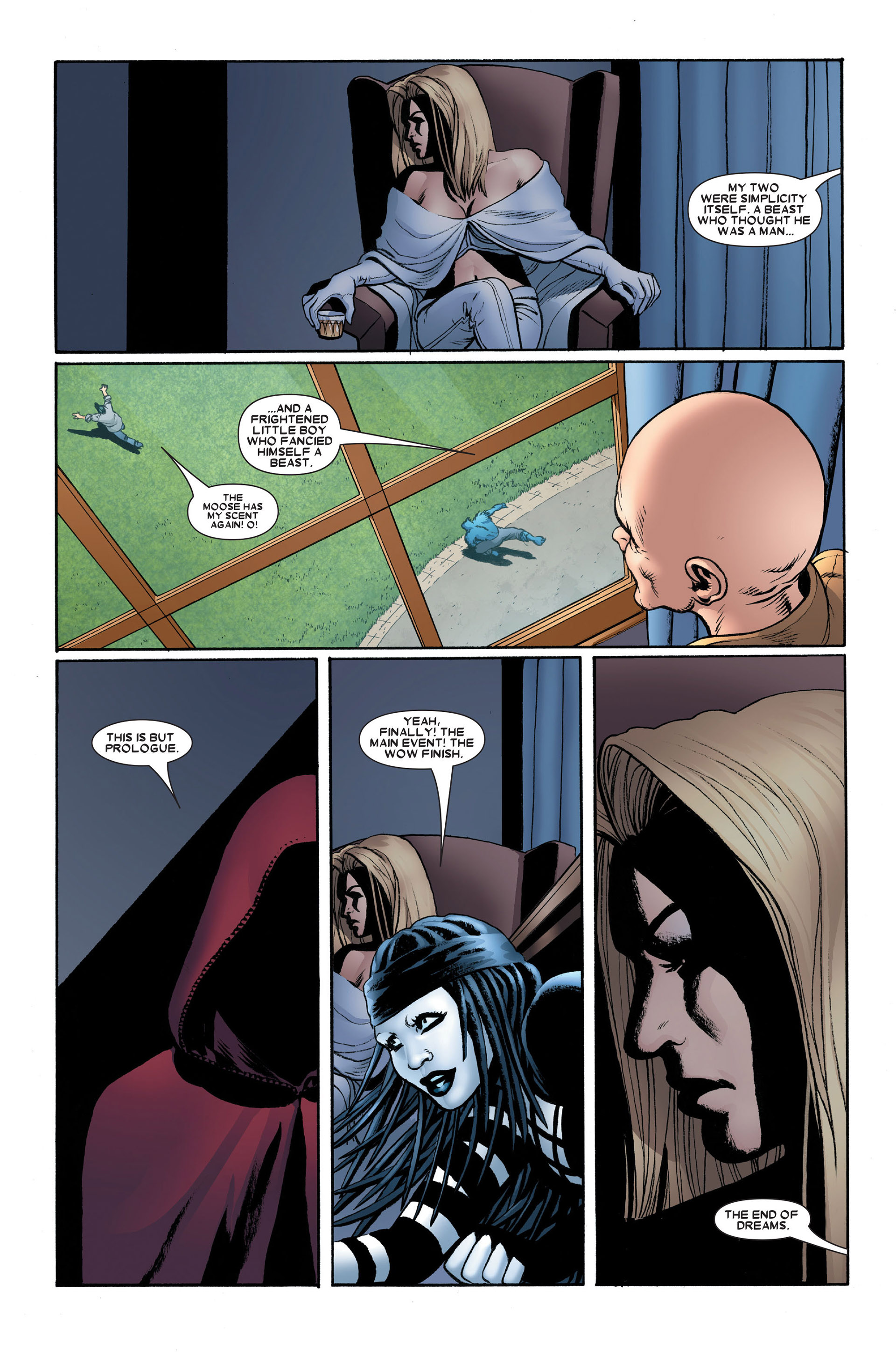 Read online Astonishing X-Men (2004) comic -  Issue #15 - 23