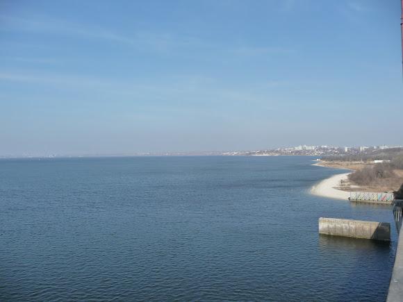 Николаев. Место впадения реки Ингул в Южный Буг