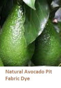 Natural Avocado Pit Fabric Dye