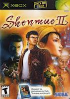 Shenmue II 2 original xbox cover