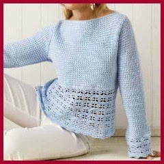 TOP DELICADO A CROCHET