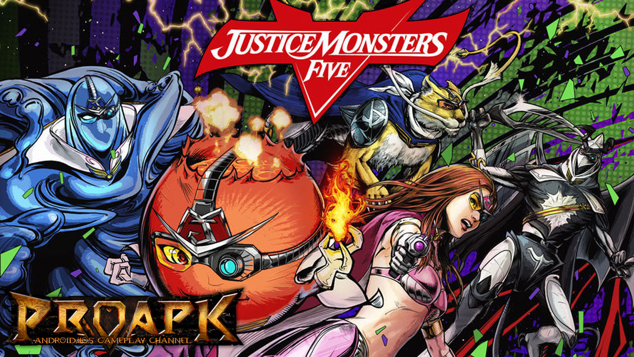 JUSTICE MONSTERS V
