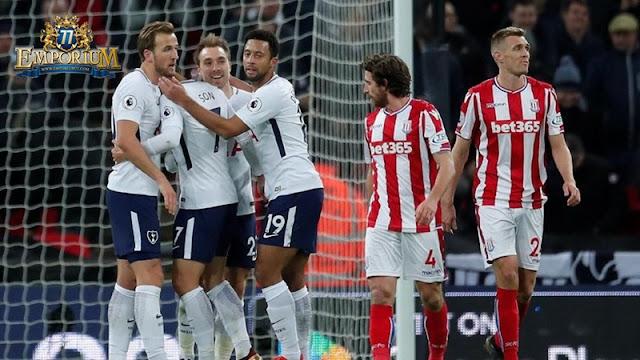 Tottenhan Hotspur Menghajar Stoke City Dengan Score 5-1