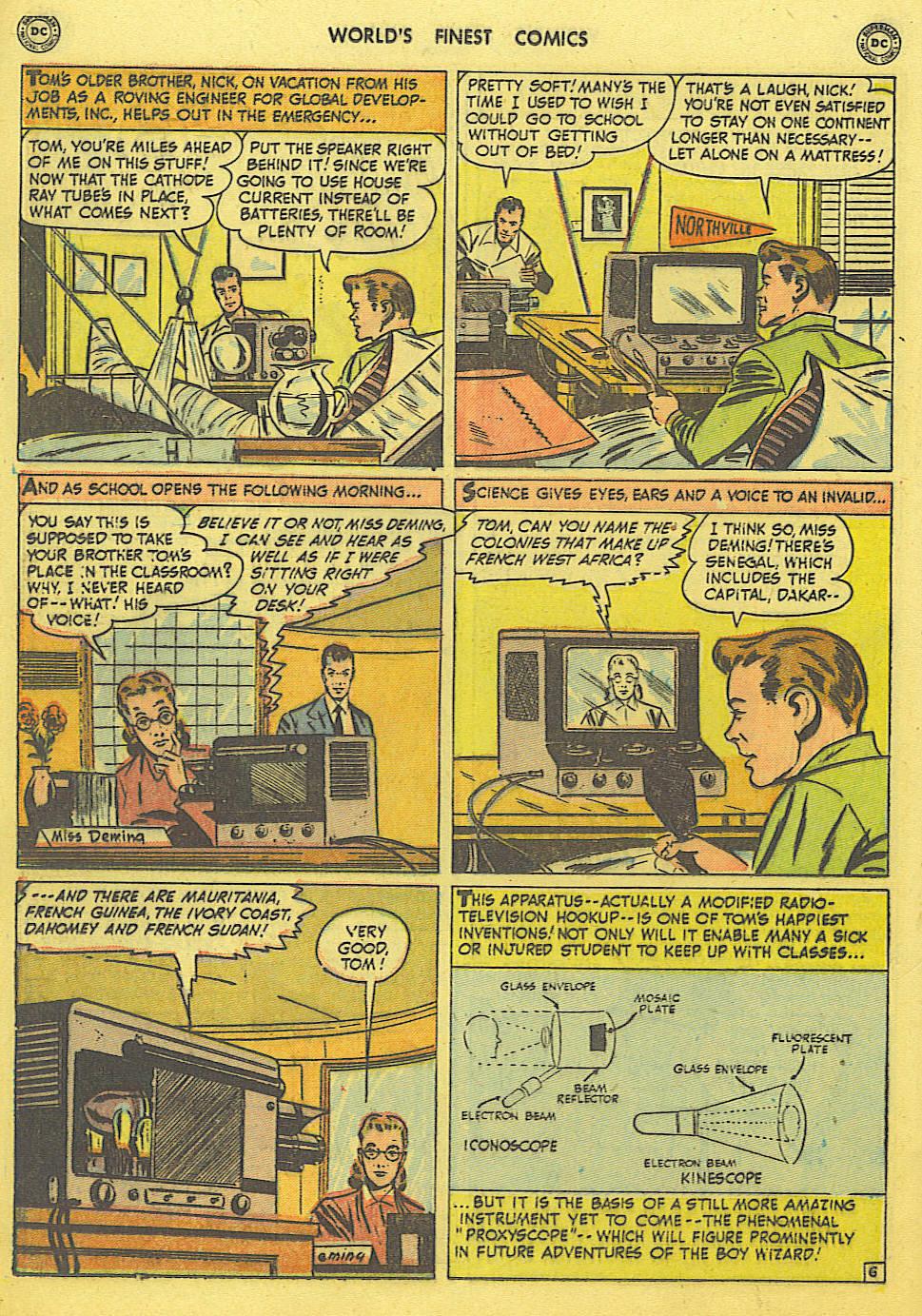 Read online World's Finest Comics comic -  Issue #49 - 35