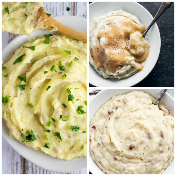 Top Ten Recipes for Mashed Potatoes in the Slow Cooker plus Honorable Mentions [found on SlowCookerFromScratch.com]