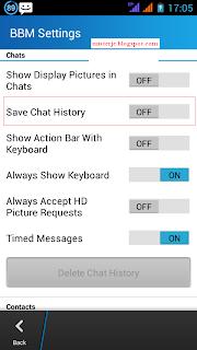 Update BBM Aman Tanpa Hilang History Chat