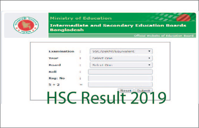 How To Get HSC Result 2019 - HSC results 2019 With Marksheet.