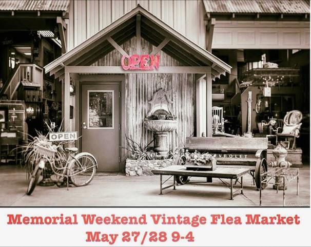 The Barn, vintage flea market