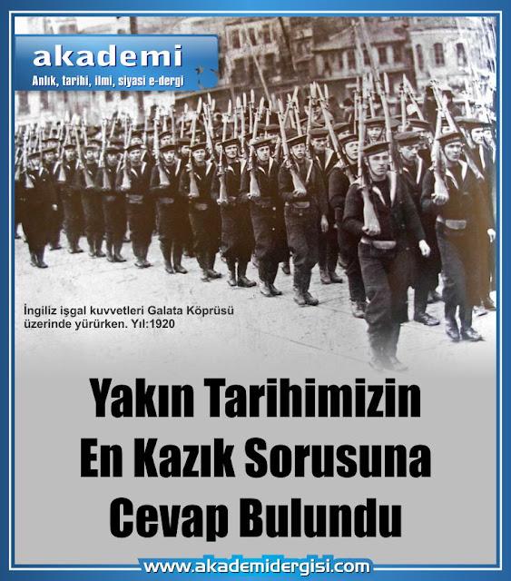 akademi dergisi, Mehmet Fahri Sertkaya, sabetayist mustafa kemal atatürk, yakın tarih, gizlenen gerçekler, çanakkale savaşı, ingiliz işgali, refet bele, sabetaycılar, istanbul