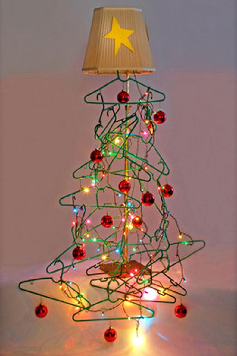 Detallelogia arboles de navidad diy con telas cojines - Arboles de navidad adornos ...