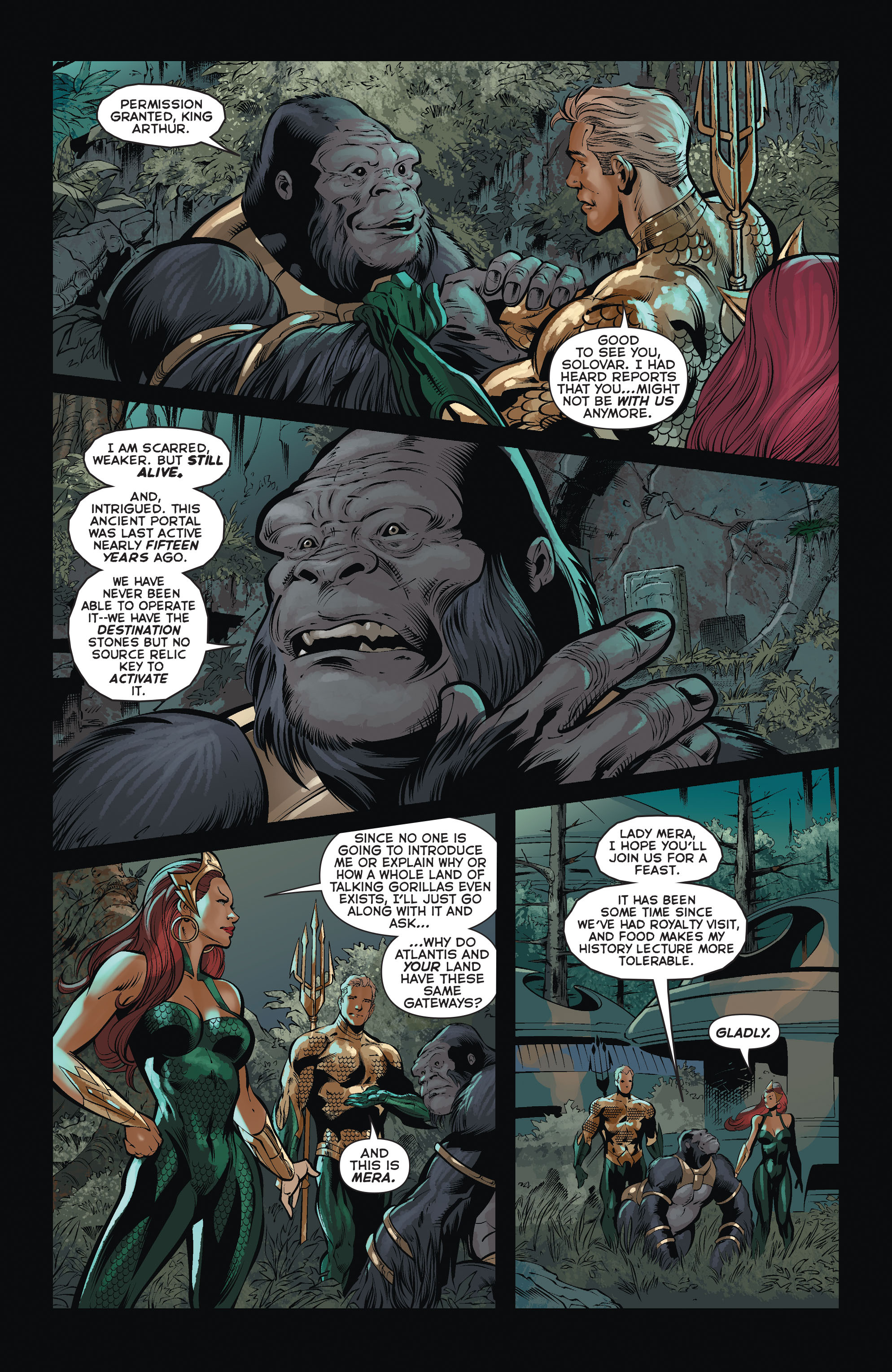 Read online Aquaman (2011) comic -  Issue #37 - 7