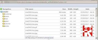 tombol upload IMCE menghilang
