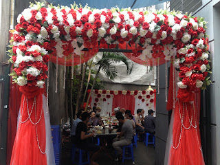 cổng hoa cưới đẹp nhất