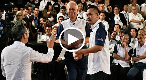 [VIDEO] Viral David Teo kena Lempang kurang ajarr dgn Najib Razak