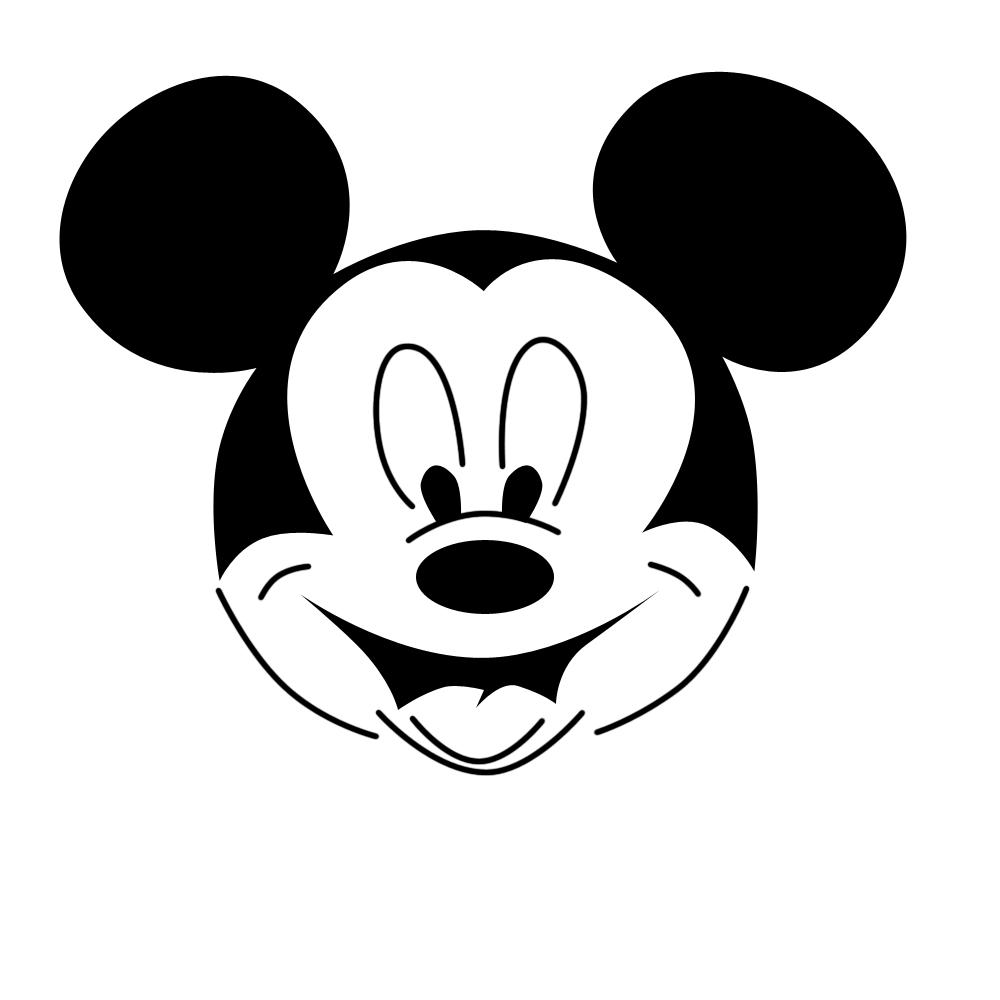 Mirzan Blog S 20 Inspirasi Gambar Ilustrasi Kartun Mickey Mouse Hitam Putih