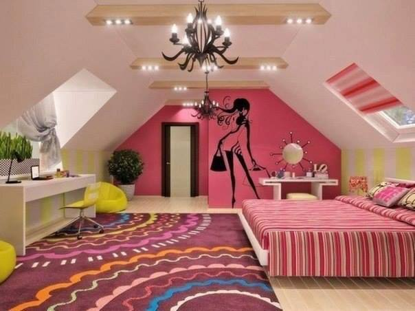 Dise o de interiores peru decorar dormitorios juveniles para chicas - Dormitorios juveniles chica ...