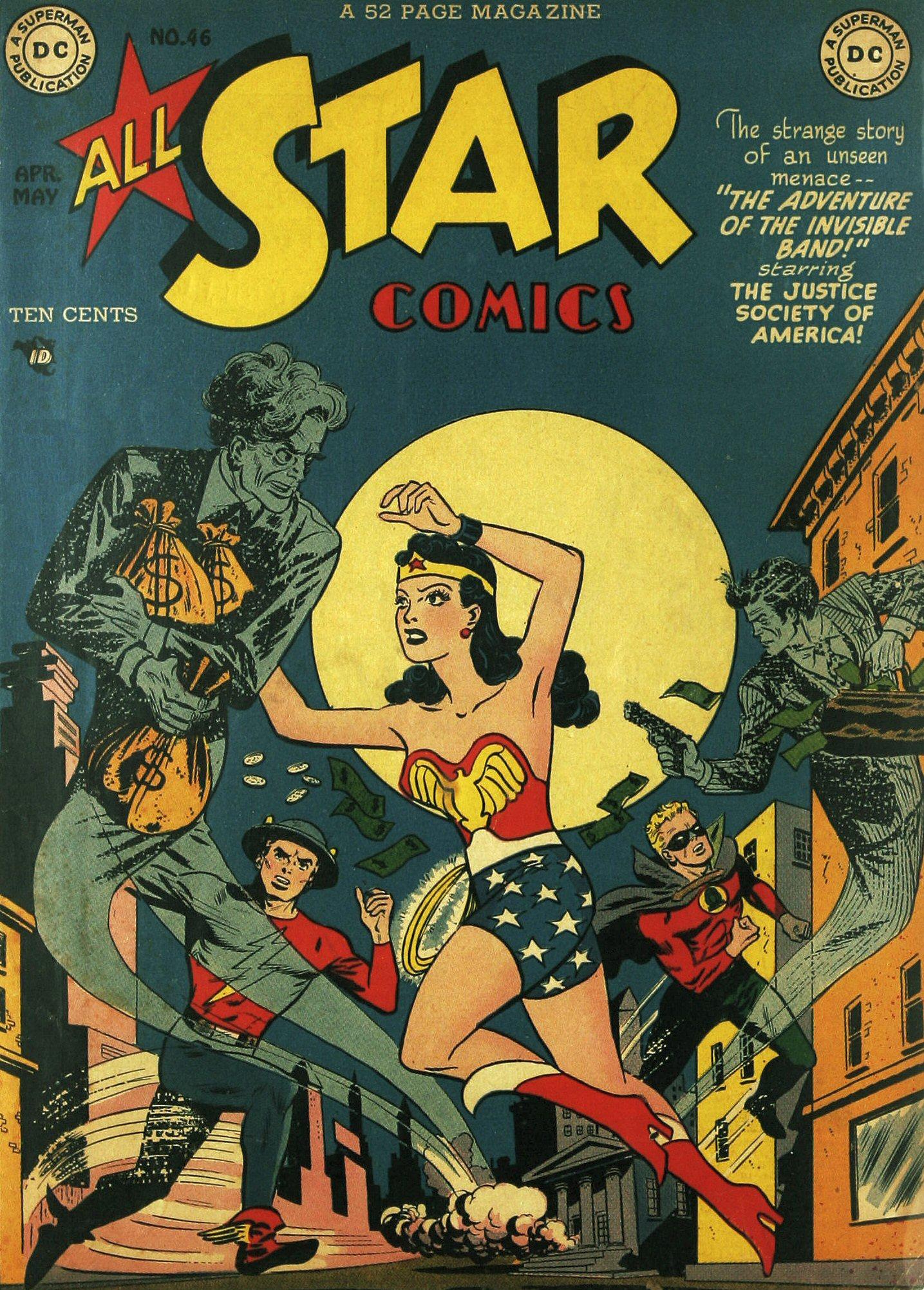 Read online All-Star Comics comic -  Issue #46 - 1