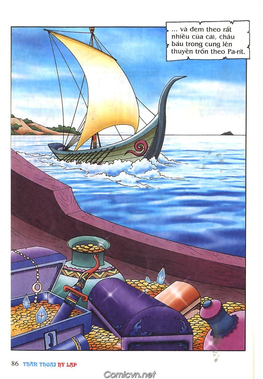 Thần Thoại Hy Lạp Màu - Chapter 51: Nàng công chúa Helen - Pic 25