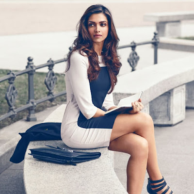 Deepika Padukone has natural body for western outfits.
