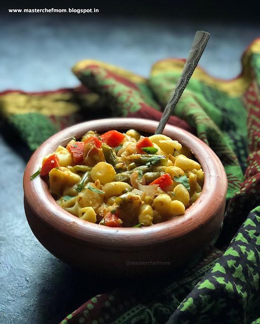 Macaroni and Makhani Recipe