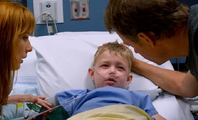 Colton was rushed to surgery while he screamed for his dad. - He Died And Went To Heaven Here's What He Saw There.
