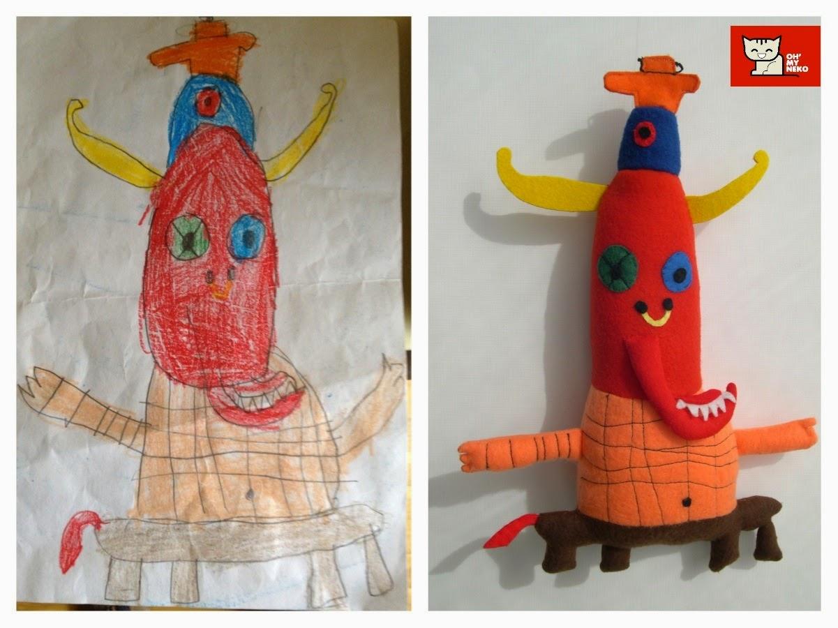 Muñecos handmade | OH' MY NEKO