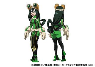 Projekt postaci Tsuyu Asui