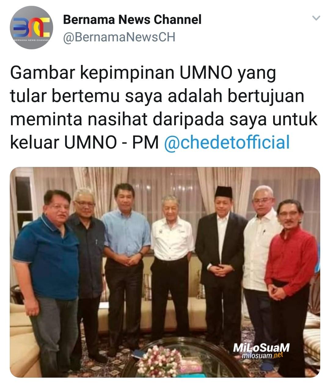 Mahathir pecah lubang