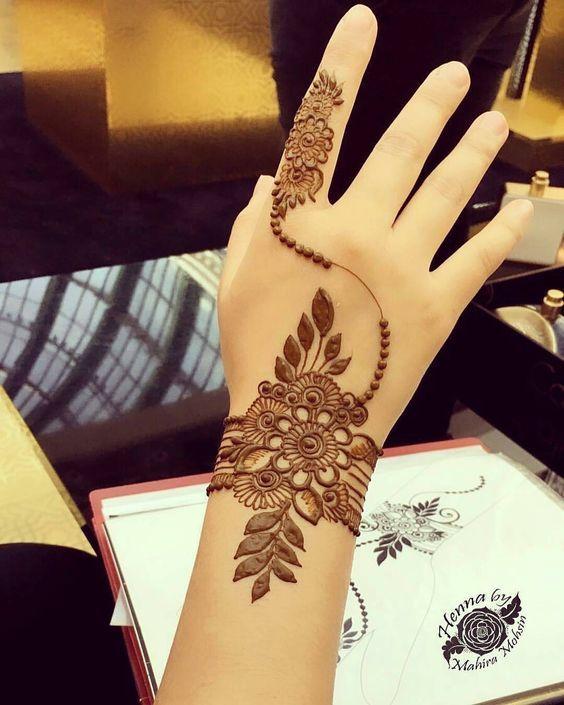 Amazing Arabic Henna Designs for Eid ul fitar 2018