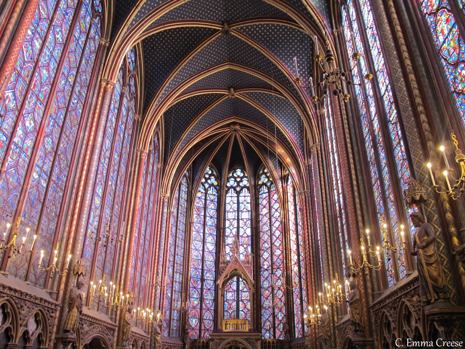 Sainte Chapelle My perfect day in Paris Adventures of a London Kiwi