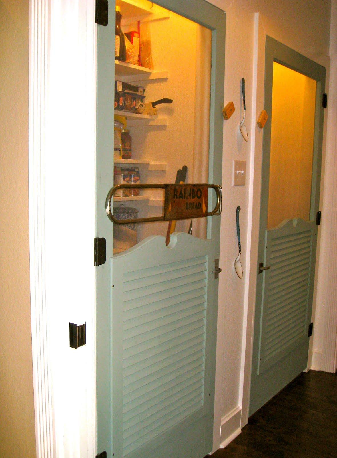 The Texas Woman: Indoor Screen Doors