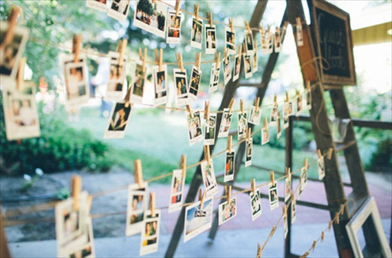 DISPLAY AT YOUR WEDDING RECEPTION