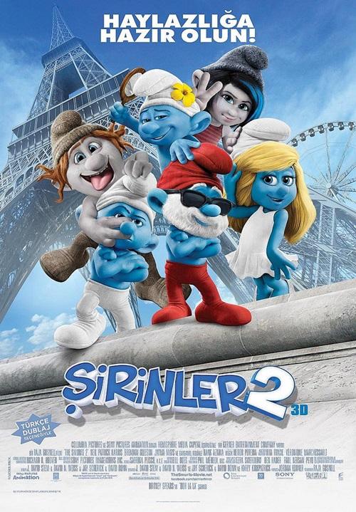 Şirinler 2: The Smurfs 2 (2013) Film indir