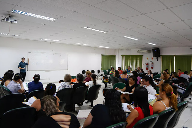 Profissionais da Educação participam de curso em Itupeva
