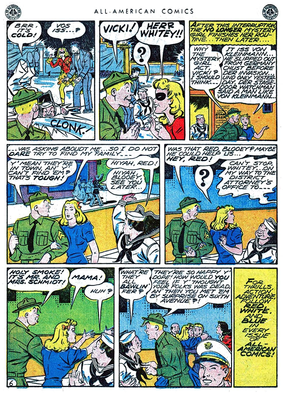 Read online All-American Comics (1939) comic -  Issue #66 - 36
