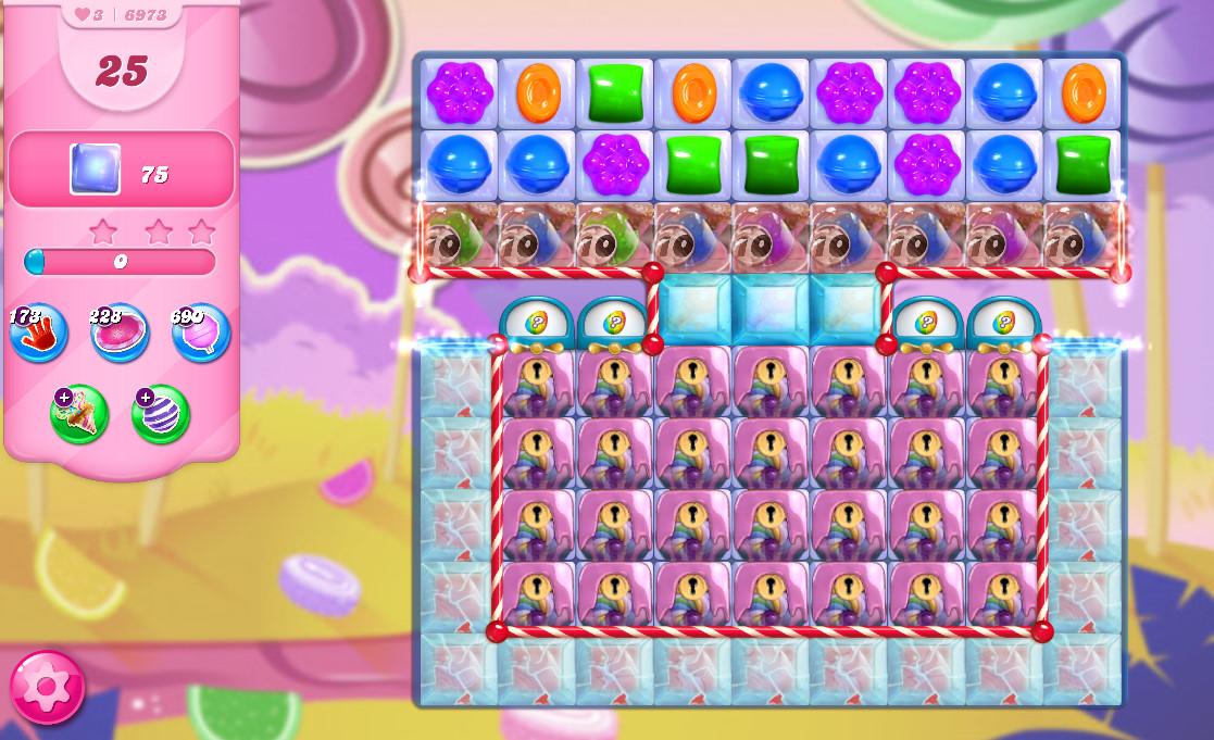 Candy Crush Saga level 6973