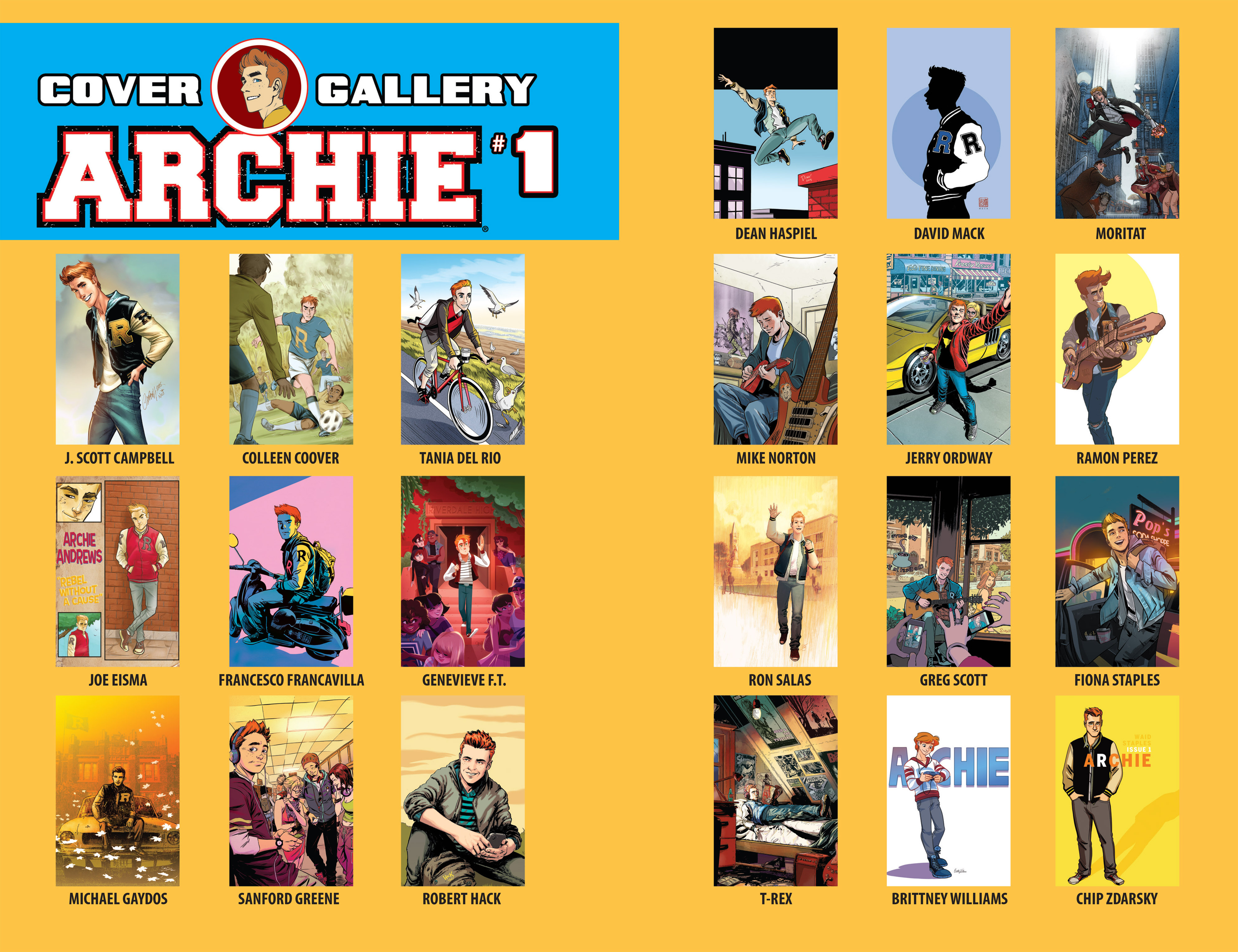 Read online Archie (2015) comic -  Issue #1 - 31