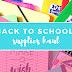 BACK TO SCHOOL: przybory szkolne!