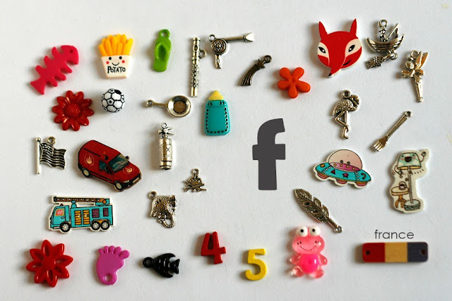 TomToy Individual letter F I spy trinkets for alphabet, Miniature abc objects, Montessori alphabet. Sorting toddler activities
