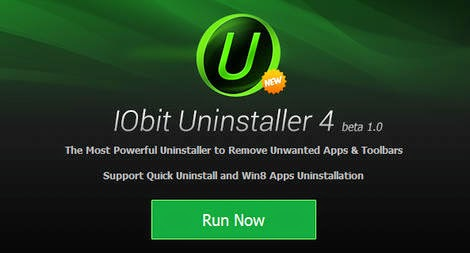 Download IObit Uninstaller 4 Beta 1.0 Terbaru