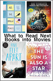Be sure to read the book before the movie comes out with these books that will soon be made into movies or tv shows.  You don't want to miss a moment with your free time.