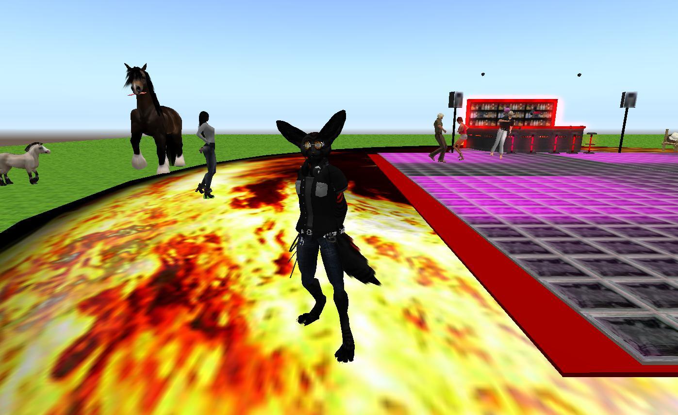 Second Life Newser: Team Firestorm Celebrates It's Third